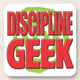 Discipline Geek Drink Coaster