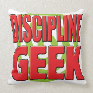 Discipline Geek Pillows