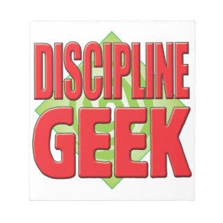 Discipline Geek v2 Memo Pads