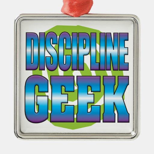 Discipline Geek v3 Christmas Ornament