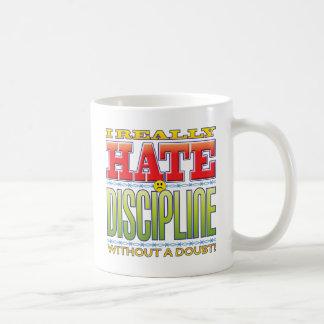 Discipline Hate Face Mugs