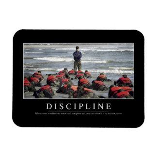 Discipline: Inspirational Quote Magnet