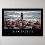Discipline: Inspirational Quote Poster