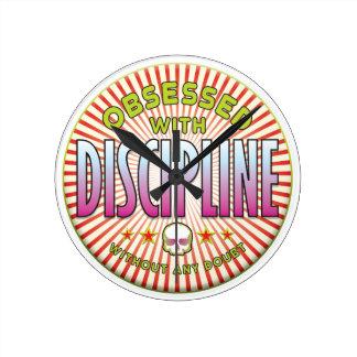 Discipline Obsessed R Clock