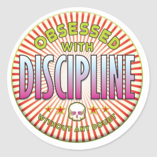 Discipline Obsessed R Stickers