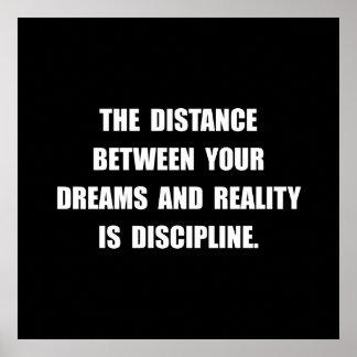 Discipline Quote Poster