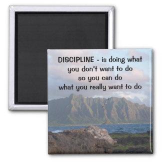 Discipline Square Magnet