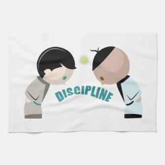 Discipline Tea Towels