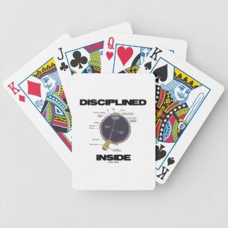 Disciplined (Eye) Inside (Eyeball Anatomy) Poker Deck