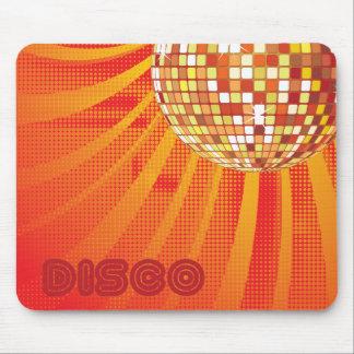 Disco ~ 1980s 80s Disco Ball Mousepad