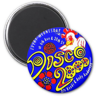 Disco 2000 Magnet