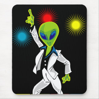 Disco Alien Mouse Mat