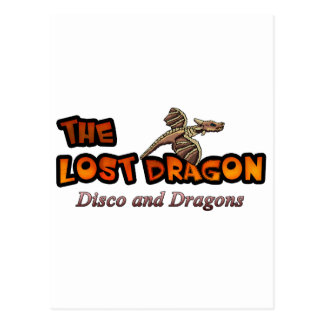 disco and Dragons Postcard