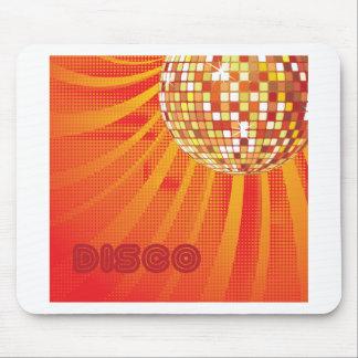 Disco Ball ~ 1980s 80s Disco Music Dance Mousepads