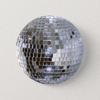 Disco Ball 6 Cm Round Badge