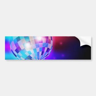 Disco Ball Car Bumper Sticker