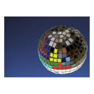 disco ball business cards