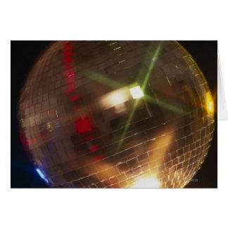 disco ball greeting card