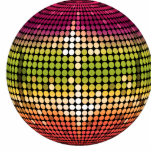 Disco Ball Cut Outs