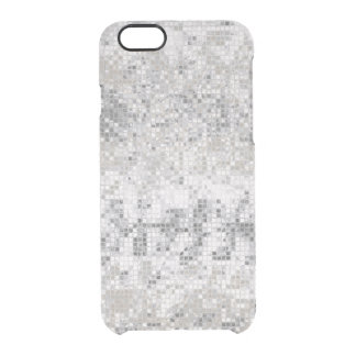 Disco Ball Mirrored Sparkly Sequin Effect Clear iPhone 6/6S Case
