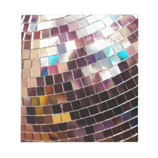 Disco Ball Notepad