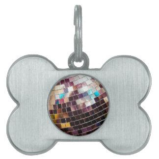 Disco Ball Pet Tag