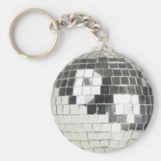 disco ball photo keychains