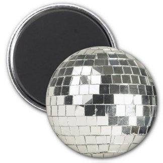 disco ball photo refrigerator magnets