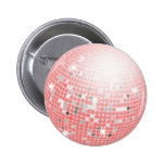 Disco Ball Pinback Buttons