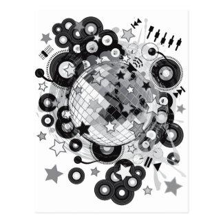 Disco_Ball Postcard