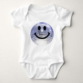 Disco Ball Smiley Baby Bodysuit