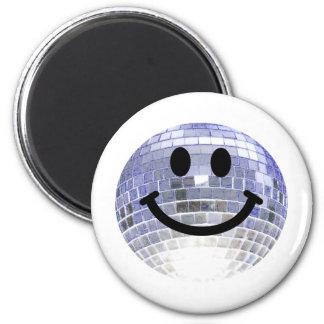 Disco Ball Smiley Magnet
