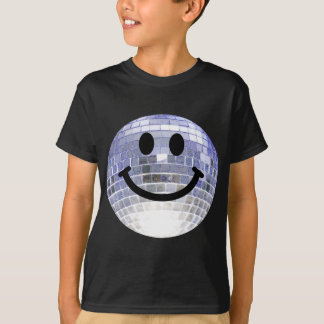 Disco Ball Smiley T-Shirt