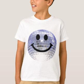 Disco Ball Smiley Tee Shirts