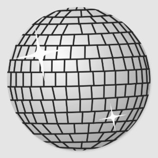 Disco Ball Sticker (Round)