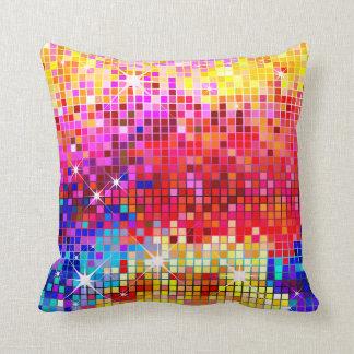 Disco Bling Geo American MoJo Pillow Cushions