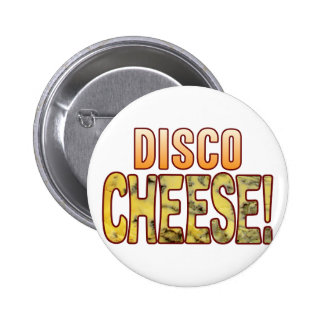 Disco Blue Cheese 6 Cm Round Badge
