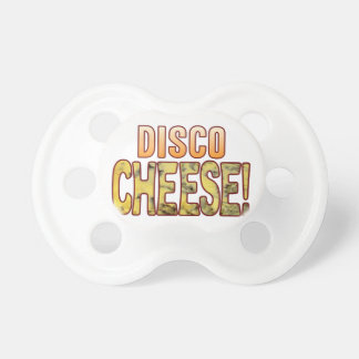 Disco Blue Cheese Baby Pacifiers