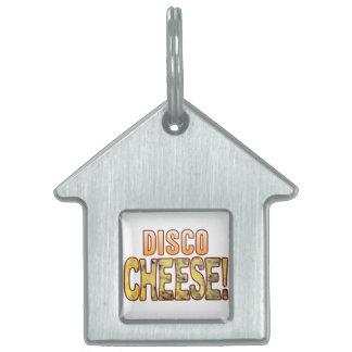 Disco Blue Cheese Pet Tag