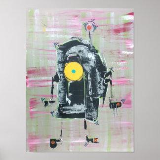 Disco-Bot Poster