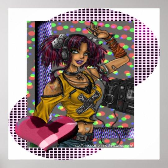 Disco - Canvas Print