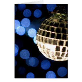 Disco Christmas card