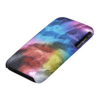 Disco Dance Party - Wrinkled Fabric iPhone 3 Cases