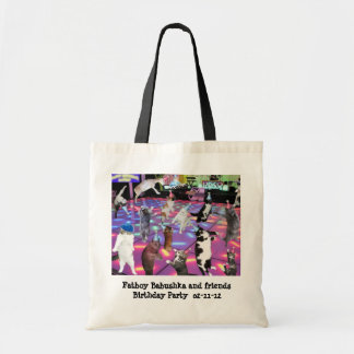 Disco Dancing at my Birthday Party Tote Bag