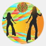 Disco Dancing Stickers
