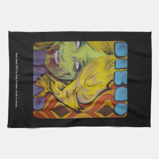 'Disco Dead' American MoJo Kitchen Towel