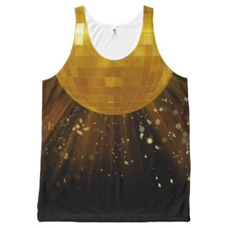 Disco Deva Lights All-Over Printed Unisex Tank All-Over Print Tank Top