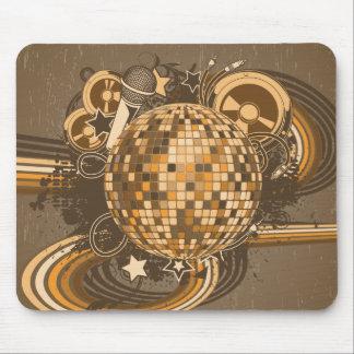 Disco Disco Ball Retro 1980s 80s Mouse Pads