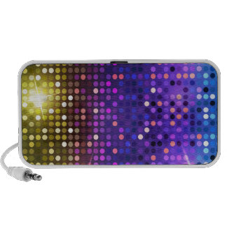 Disco dots travel speakers