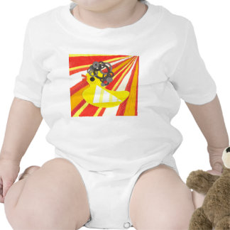 Disco Ducky Babygro Bodysuit